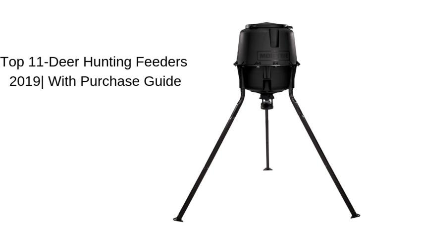 Top 11-Deer Hunting Feeders 2019| With Guide - FeatherNett